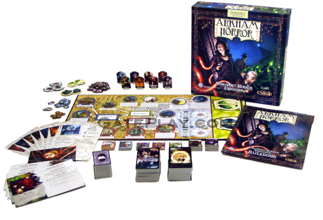 arkham horror board game expansions