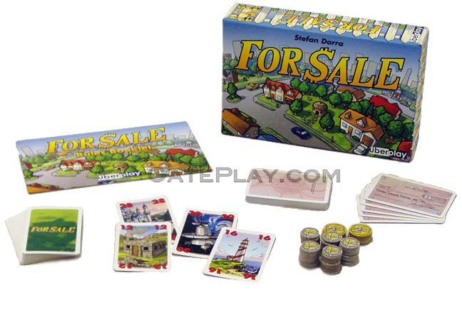 GatePlay.com Games - For Sale Card Game - Gateway Board Games And Card Games