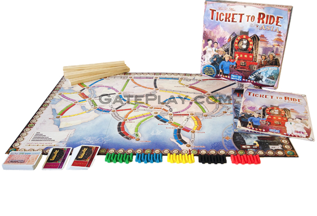 Ticket To Ride Asia Map.Gateplay Com Games Ticket To Ride Map Collection Volume 1 Team