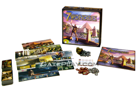 7 wonders board game play