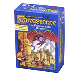 Carcassonne - The Princess & The Dragon Board Game Expansion