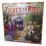 Ticket to Ride Map Collection: Volume 3 The Heart of Africa